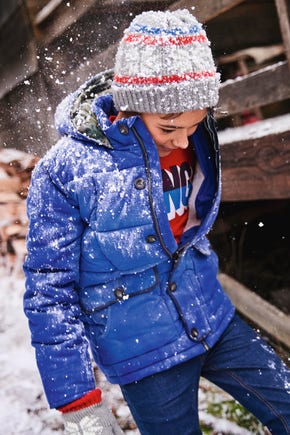Boys Quilted Parka